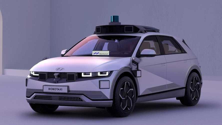 Hyundai Ioniq 5 wird auf der IAA als Robotaxi gezeigt