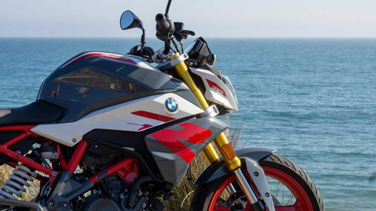 2021 BMW G 310 R - Front, Side, Right