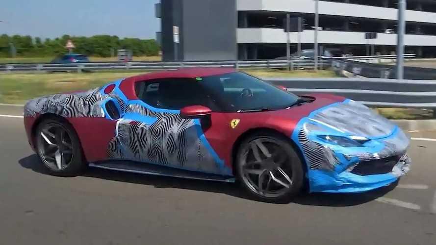 Послушайте, как звучит Ferrari 296 GTB во всех режимах