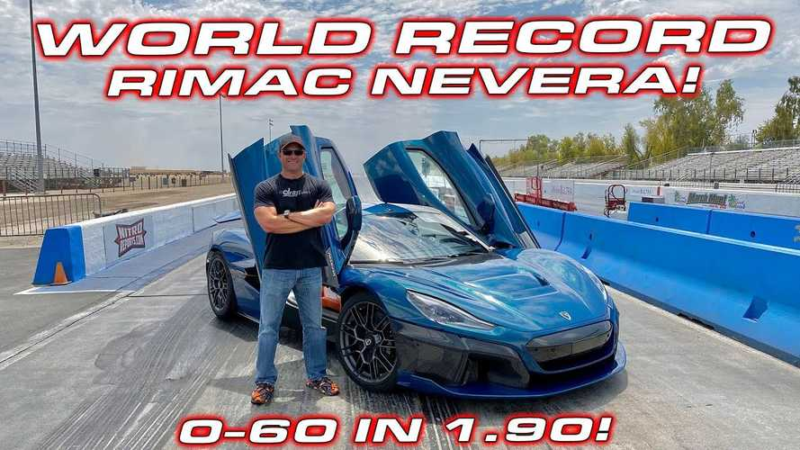 Watch Rimac Nevera Go Beyond Plaid: Sets New 1/4 Mile World Record