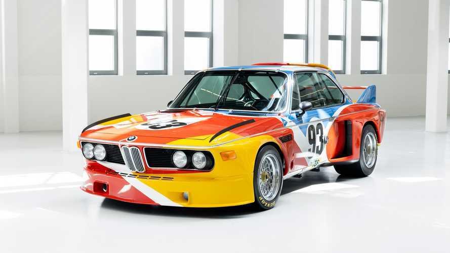 "BMW Art Car, la 3.0 CSL è diventata ""arte cinetica"""