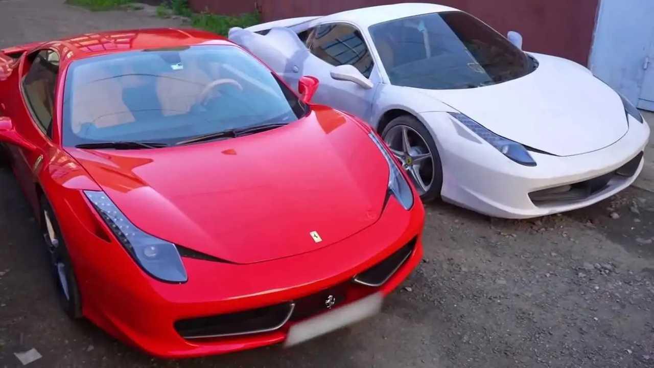 Kamu és igazi Ferrari 458 Italia