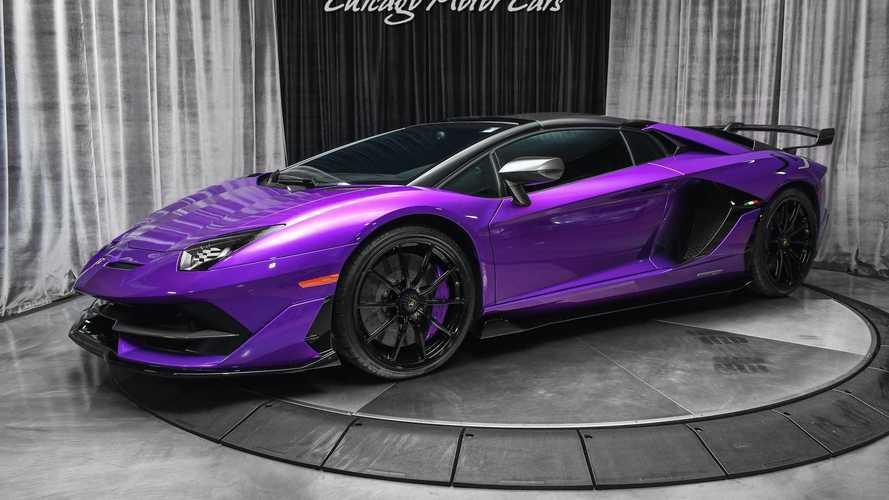 Check Out These Lamborghini Aventador SVJs For Sale