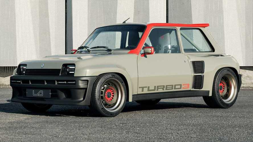 Renault 5 Turbo 3: un genial restomod de fibra de carbono