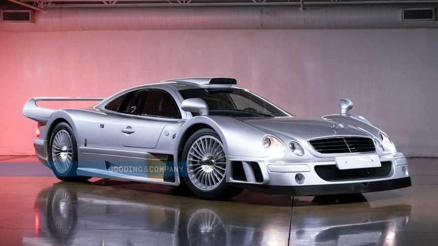 Mercedes-Benz CLK GTR Will Cross The  Auction Block At Pebble Beach