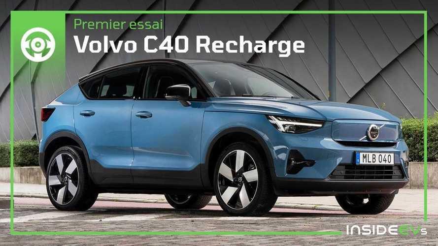 Essai Volvo C40 Recharge (2021) - Il a tout d'un grand