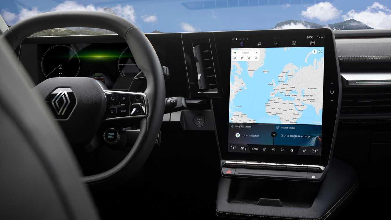 Renault Megane E-Tech interni