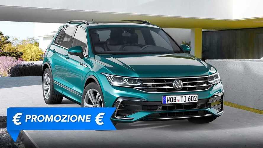 Promozione Volkswagen Tiguan benzina, perché conviene e perché no