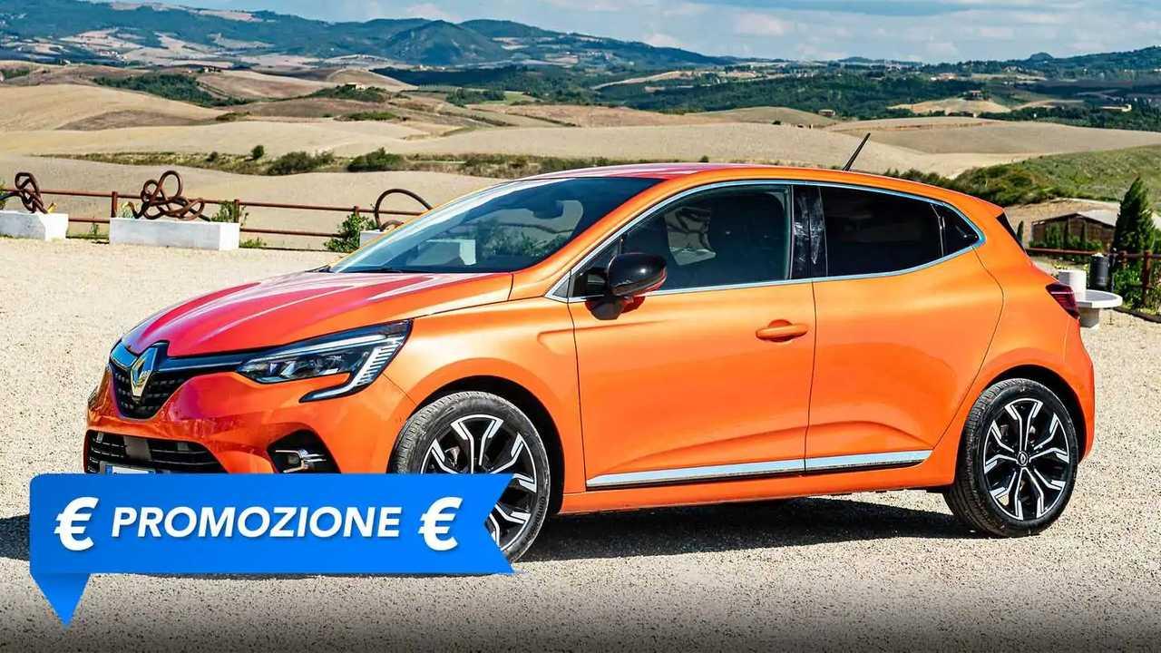 Renault Clio, la promozione di settembre 2021