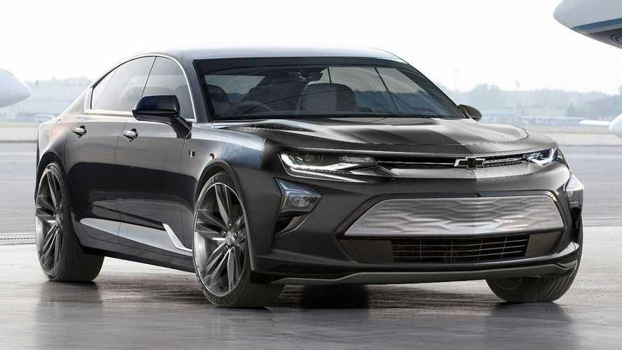 La Camaro berline et électrique pourrait ressembler à ça