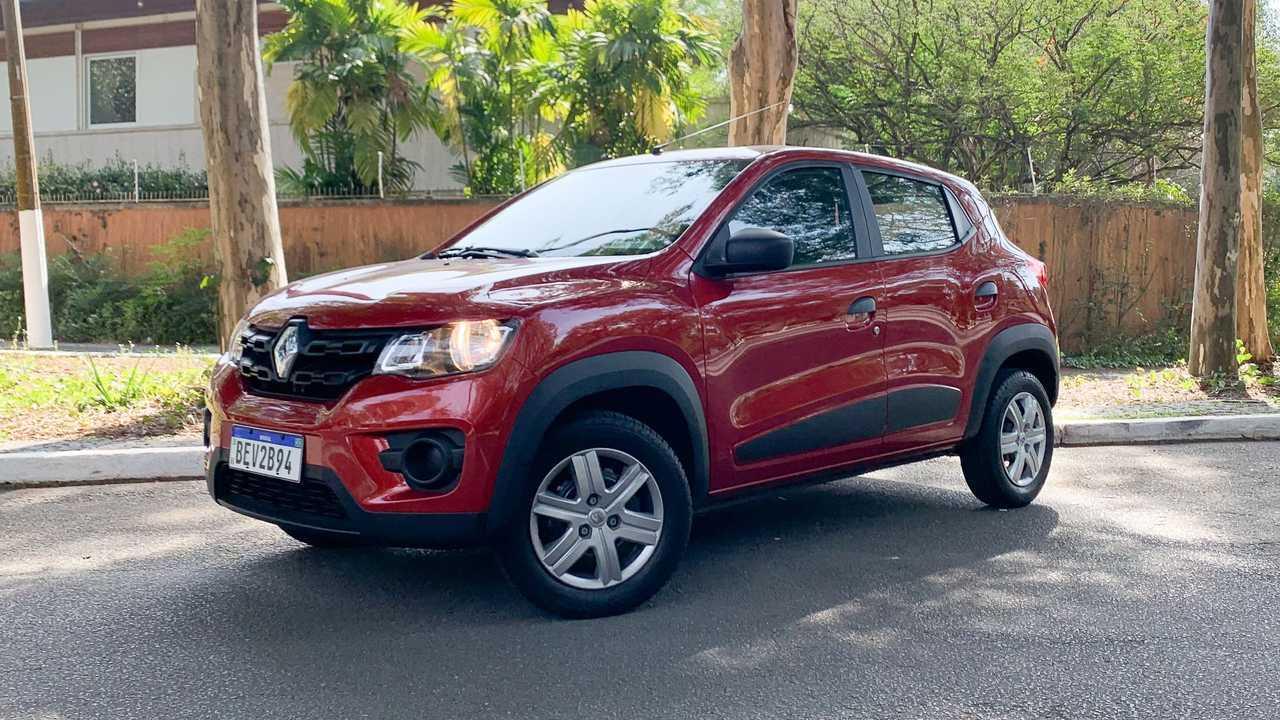 Der Renault Kwid Zen (2021) in Brasilien