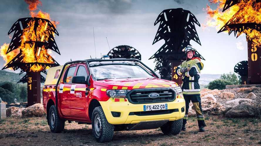 Kiprah Ford Ranger Membantu Petugas Damkar Prancis, Pikap Tangguh