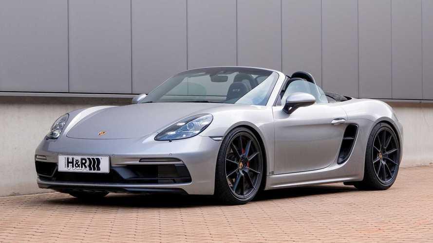 H&R-Gewindefedern für den Porsche 718