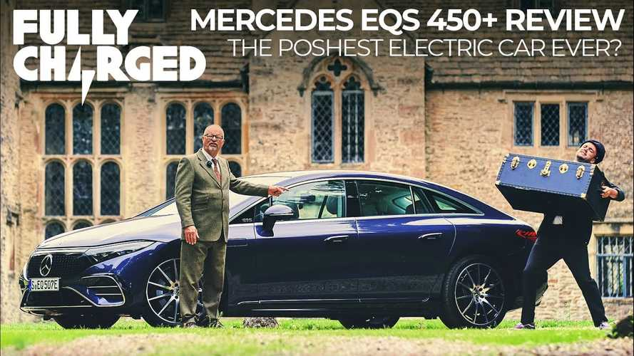 Fully Charged Says Mercedes EQS Is The Most Luxurious EV Ever