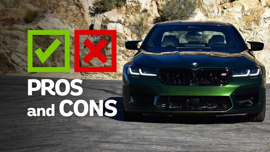 2021 BMW M5 Competition Pros And Cons: Gorgeously Appointed Overkill