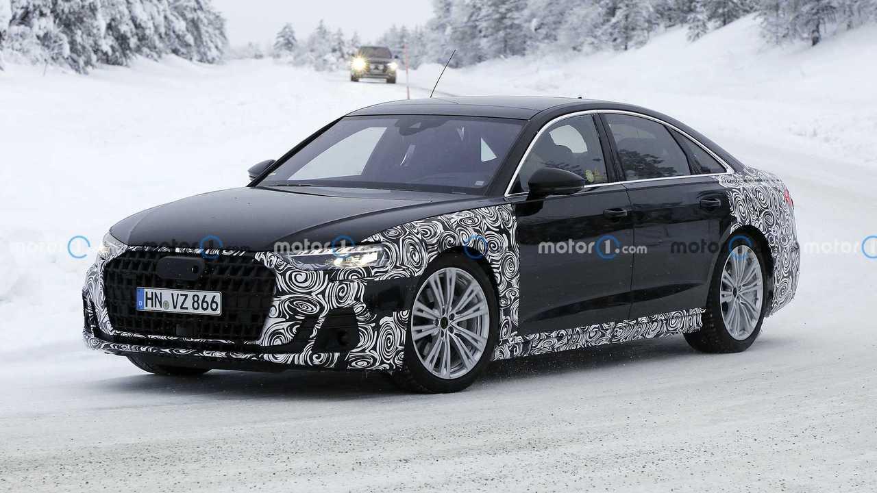 2022 Audi A8 facelift photo