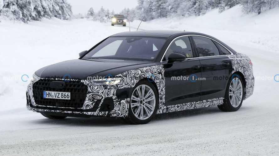 Audi prépare activement le restylage de son A8