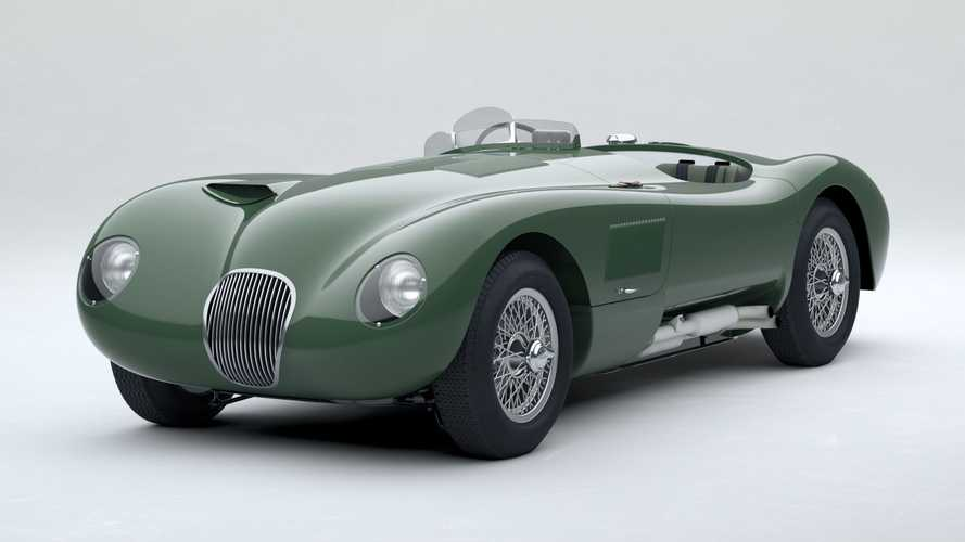 Jaguar C-Type Continuation Car: Renn-Legende als Nachbildung