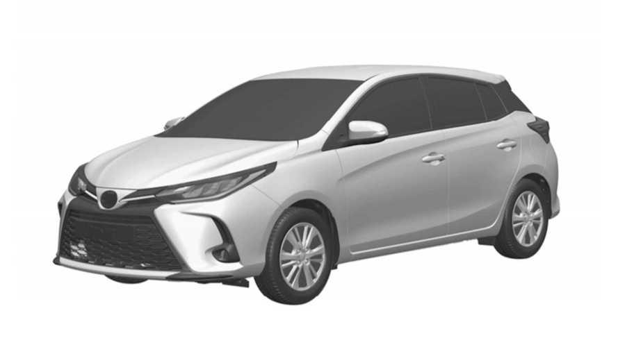 Toyota Yaris com novo visual e faróis de LED só chegará ao Brasil em 2022