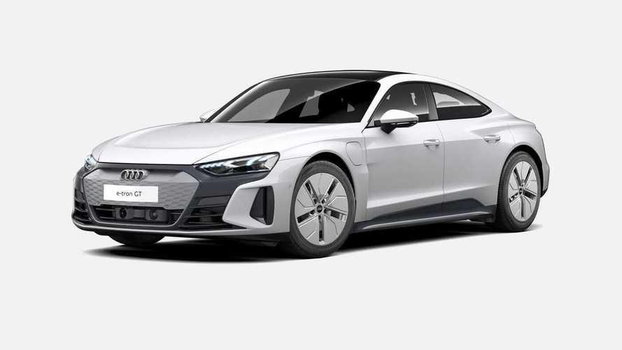 Audi e-tron GT - La configuration... sans options !