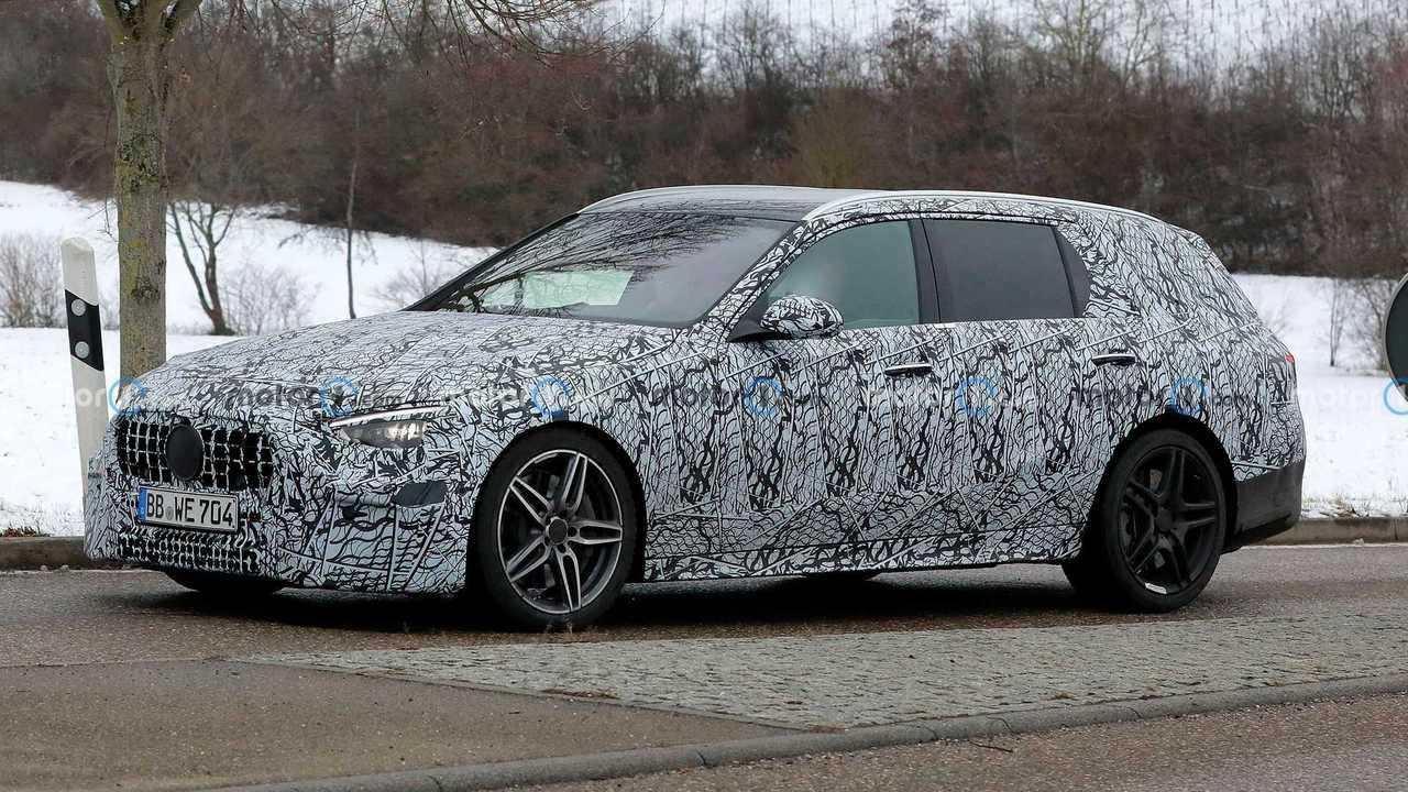 2022 Mercedes-AMG C53 Wagen-Spion Foto