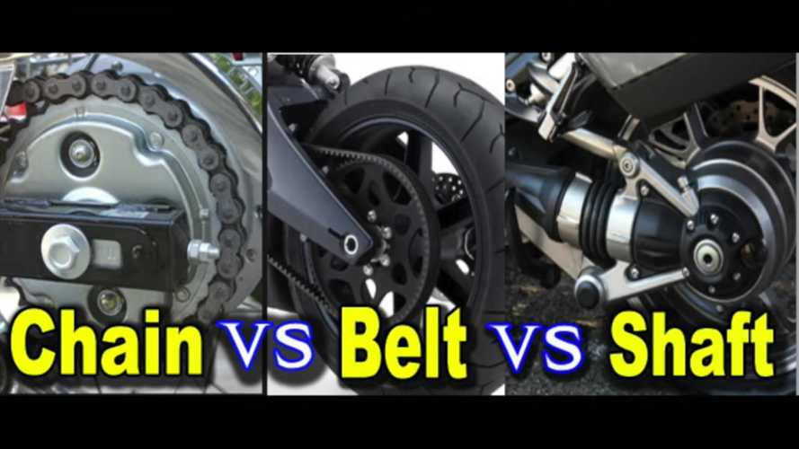 What's The Difference Between Chain, Belt, And Shaft Drive?