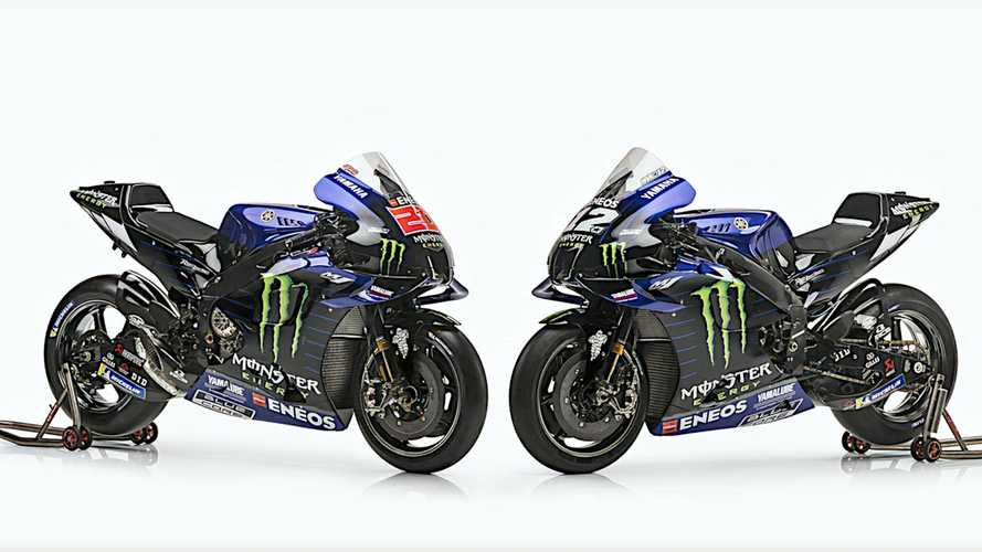 Tim Monster Energy Yamaha MotoGP Perkenalkan Livery Motor 2021