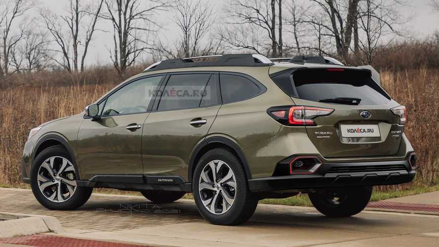 2022 Subaru Outback renderings