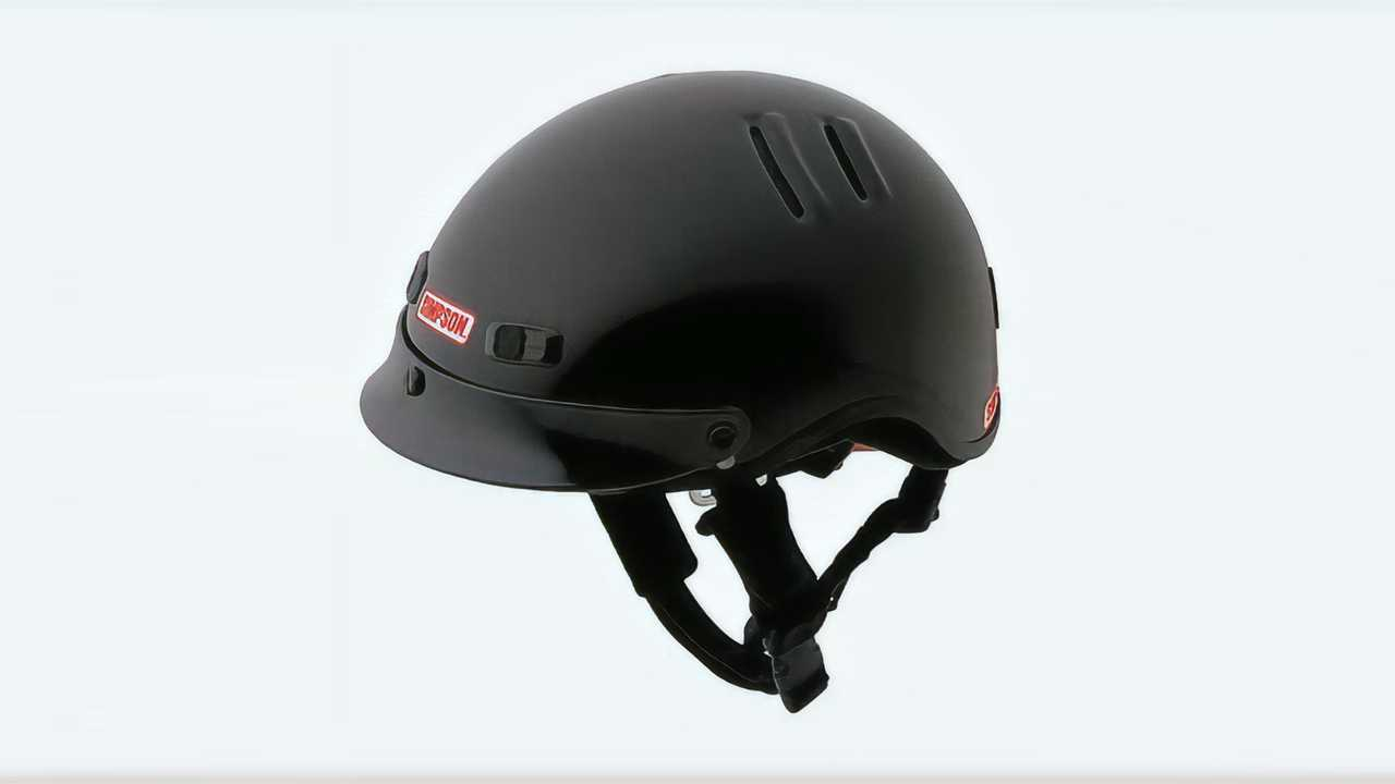 Simpson Shorty Over The Wall Helmet
