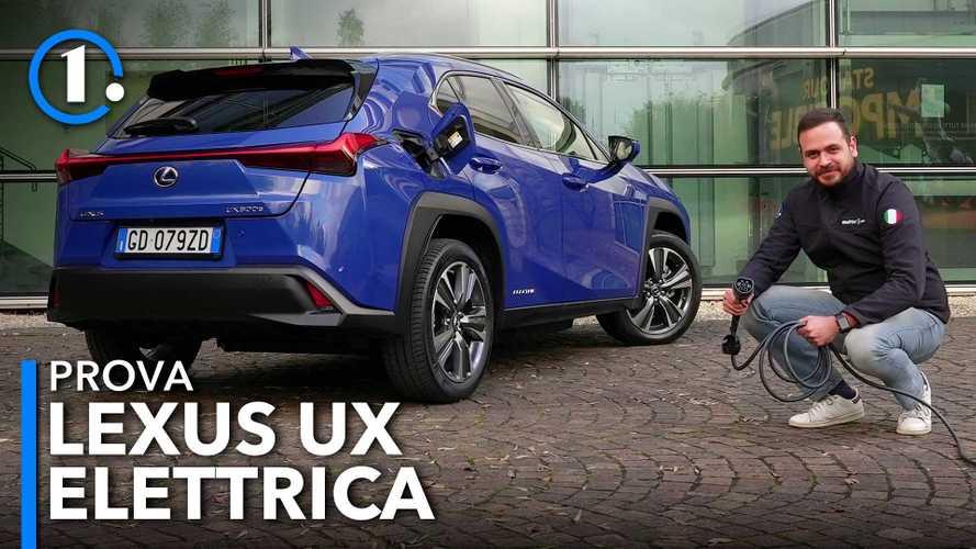 Lexus UX 300e, come va il crossover elettrico da 300 km di autonomia