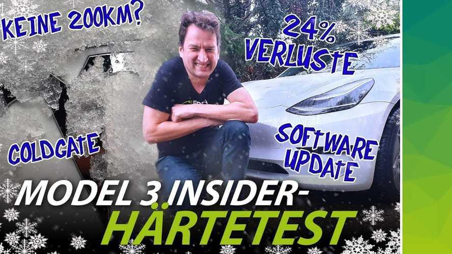 Tesla Model 3 aus China mit LFP-Batterien: Probleme bei Kälte?