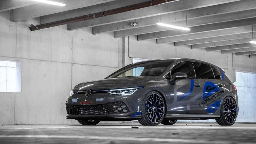 Leültette és nagyobb kerekekre rakta az Urban Motors az új Volkswagen Golf GTE-t