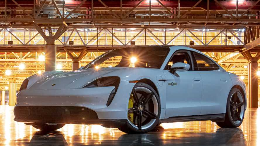 Porsche Taycan Breaks Indoor Speed Record After Hitting 102.6 MPH