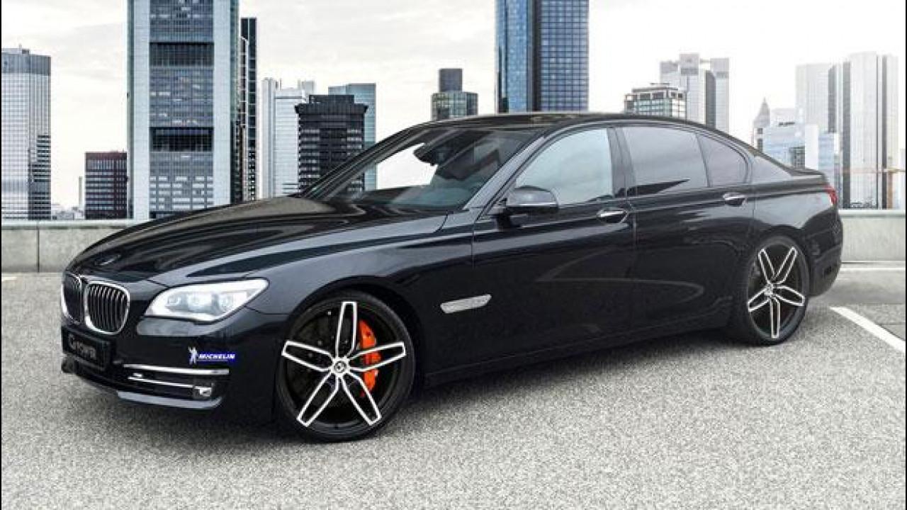 [Copertina] - BMW 760i, se G-Power ci mette le mani...