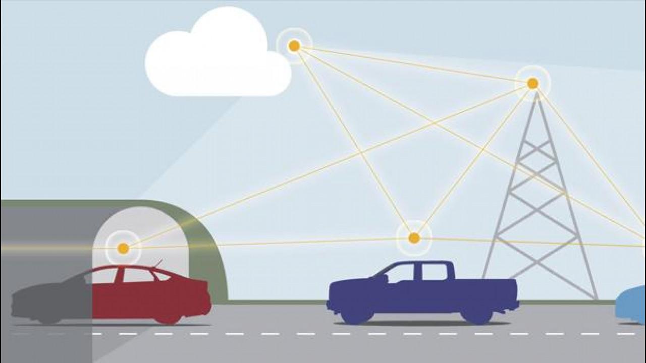 [Copertina] - Ford e la connettività spaziale