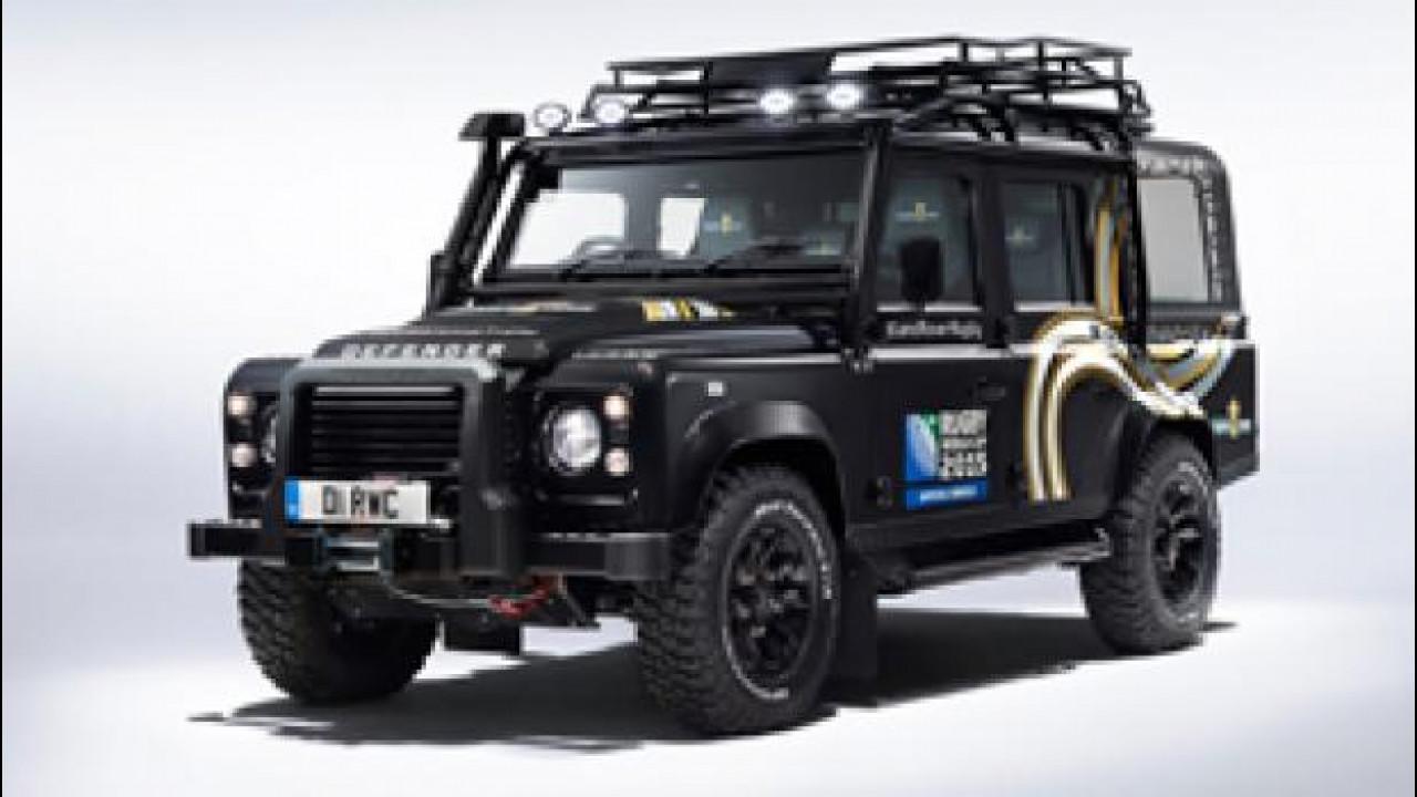 [Copertina] - Land Rover Defender World Cup 2015, la Coppa è al sicuro