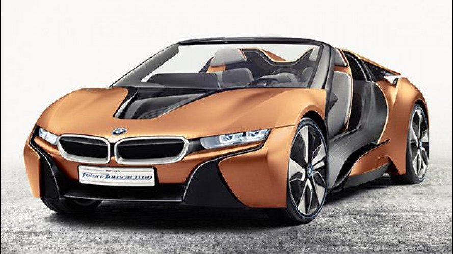 BMW i Vision Future Interaction, la Spyder del futuro