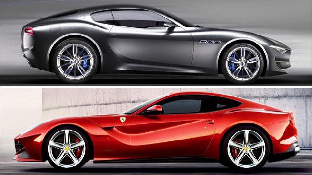 [Copertina] - Marchionne: Maserati deve prendere il posto di Ferrari