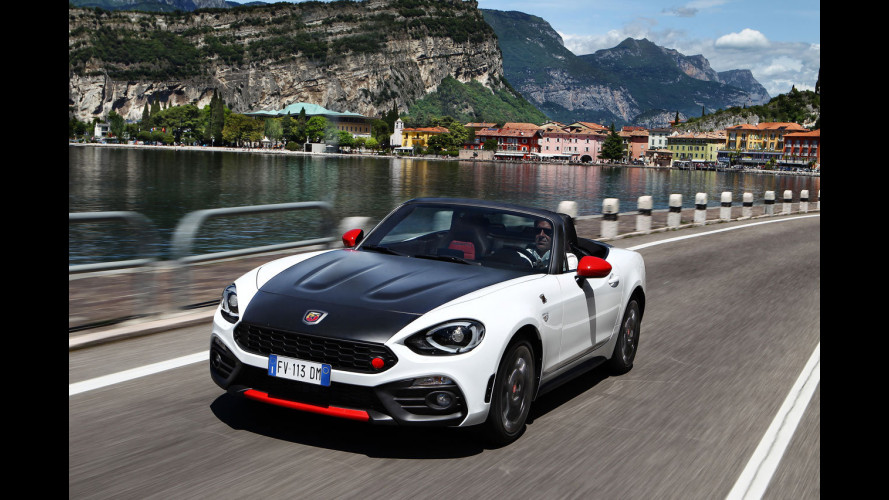 Abarth 124 spider, stradale da track day [VIDEO]