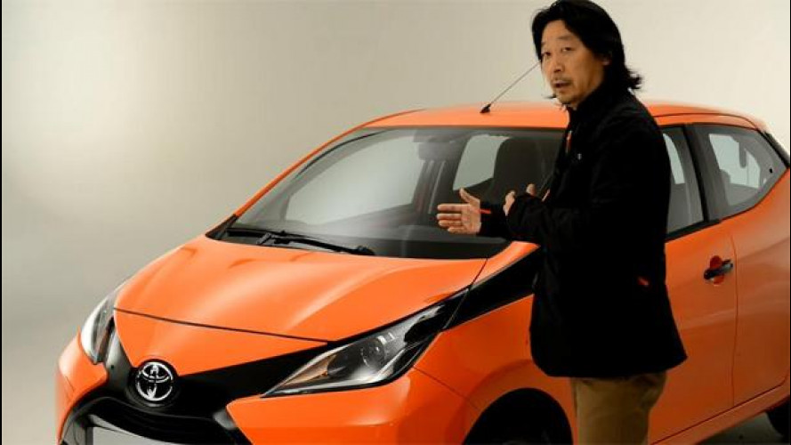 Toyota Aygo, come ti disegno una citycar diversa [VIDEO]