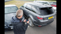 Range Rover Sport, guida da remoto