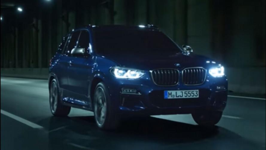 Nuova BMW X3, le prime immagini [VIDEO]