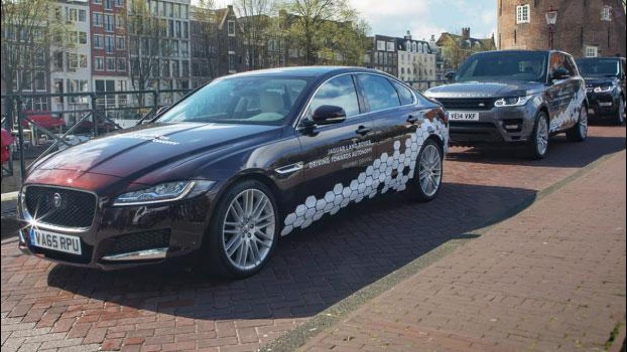 [Copertina] - Guida autonoma, Jaguar Land Rover punta sulla standardizzazione