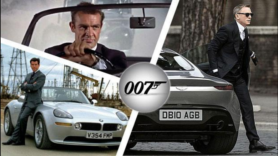 James Bond, tutte le auto di 007