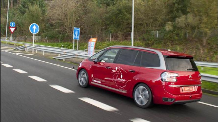 Guida autonoma, il prototipo PSA ha percorso da solo 3.000 km