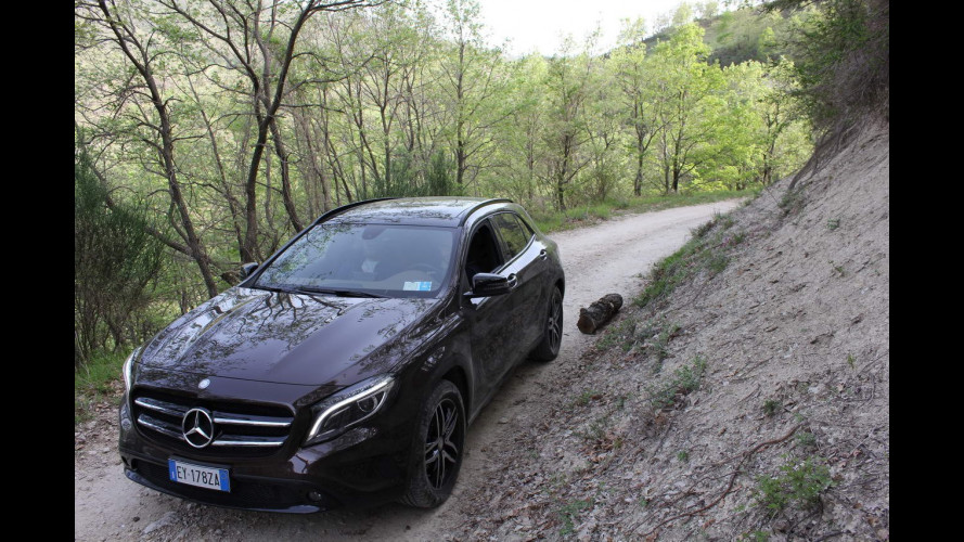 Mercedes GLA Challenge, inizia la sfida [VIDEO]