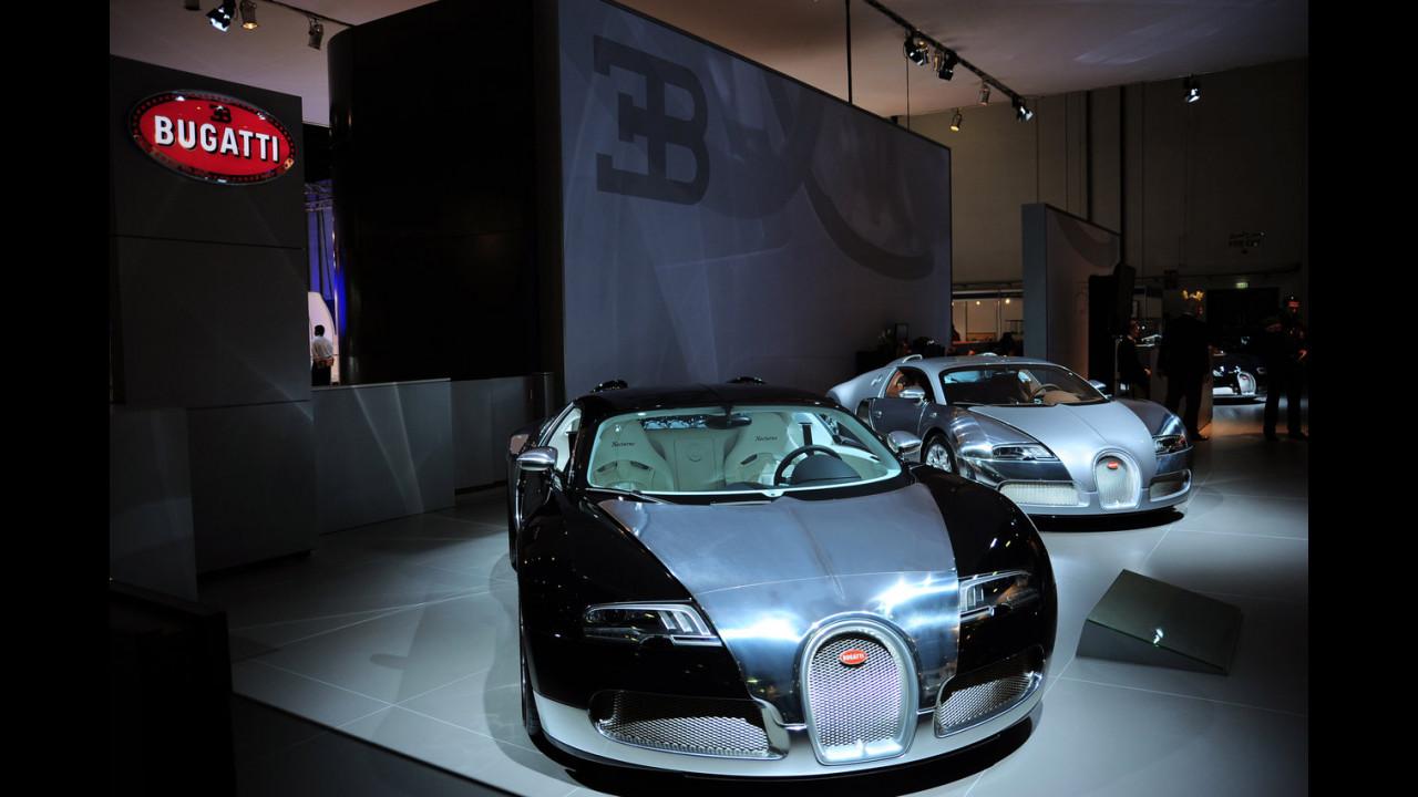 Bugatti al Salone di Dubai 2009