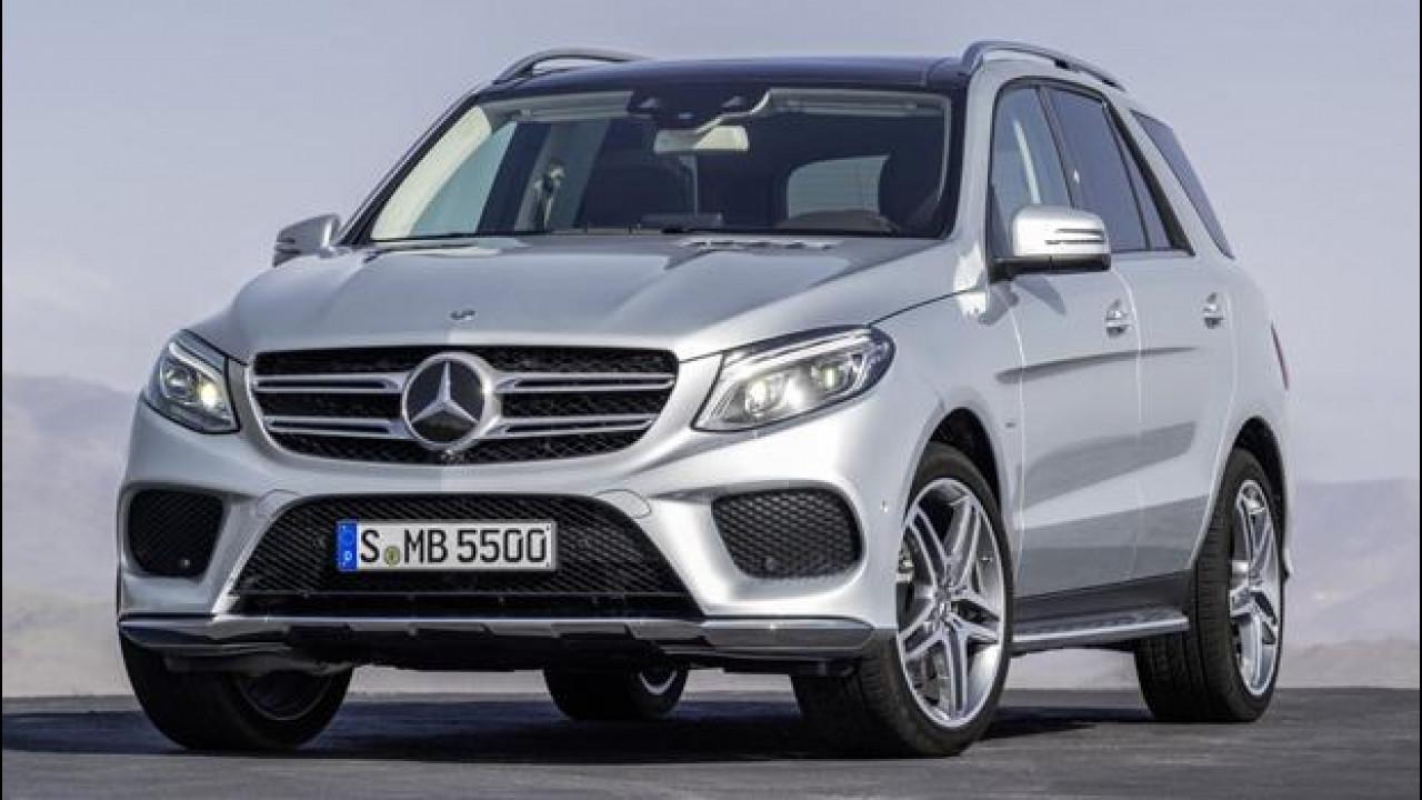 [Copertina] - Nuova Mercedes GLE, cioè il restyling dell'ML