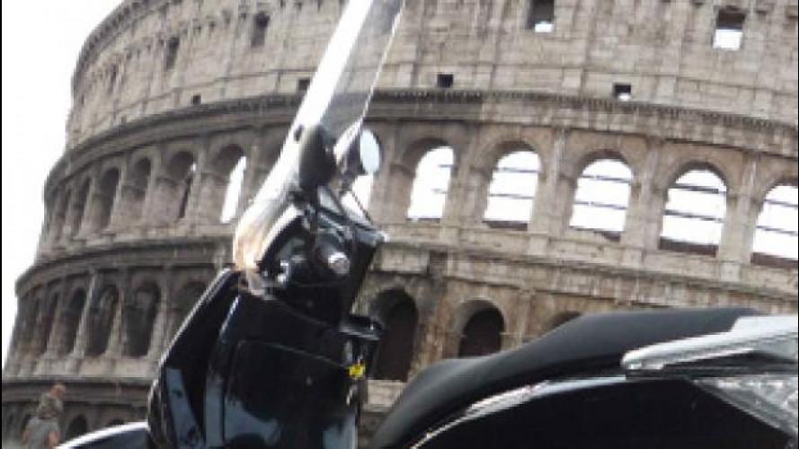 A Roma niente moto e scooter Euro 1 nell'Anello Ferroviario