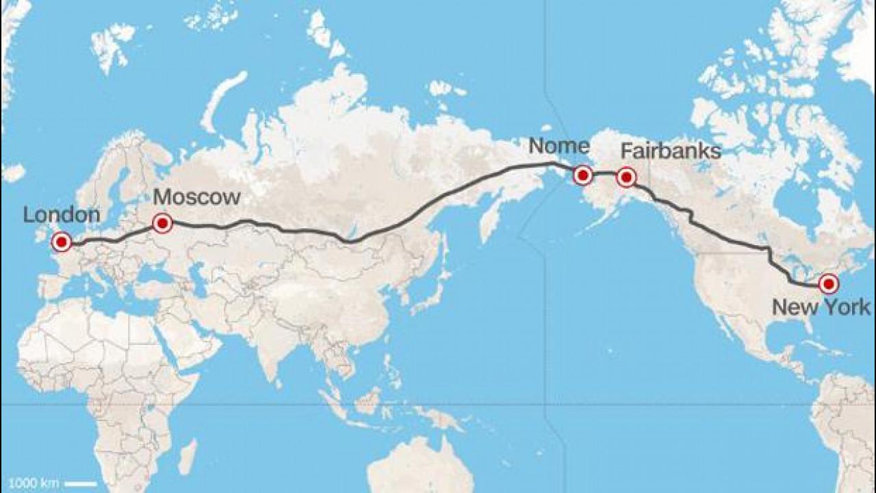 [Copertina] - L'Autostrada Londra-New York, la Russia lancia l'incredibile progetto